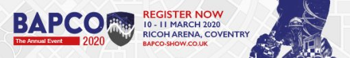 BAPCO 2020, Ricoh Arena Coventry UK, 10-11 March 2020