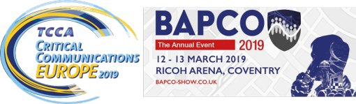 Roger-GPS in Critical Communication Europe / BAPCO 2019