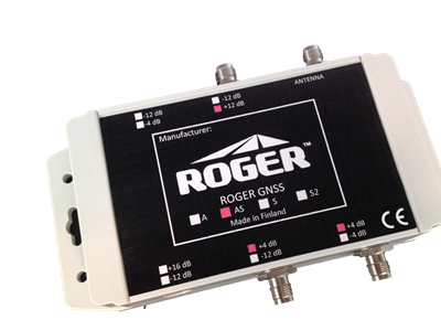 GNSS-AS-IP67, Line Amplifier/Splitter