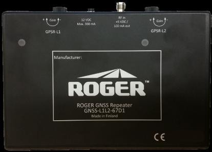 GNSS-L1L2-67D1, GPS L1L2 repeater
